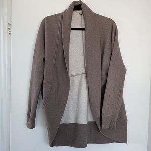 Banana Republic Open Front Cocoon Cardigan Sweater